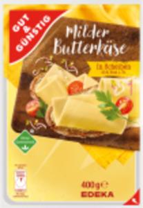 Gut & Günstig Gouda, Butterkäse, Edamer oder Tilsiter