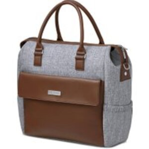 ABC Design Wickeltasche Jetset Graphite Grey