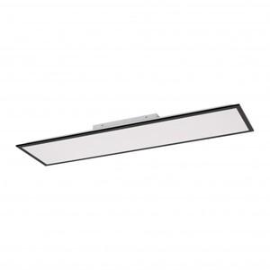 Leuchten Direkt CCT LED Deckenleuchte Flat ,  36 W, dimmbar, Memory Funktion, 119,5 x 29,5 cm, schwarz