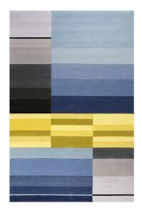 Teppichart Split blau Gr. 170 x 240