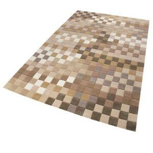 Teppichart Pixel beige Gr. 70 x 140