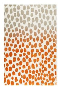 Teppichart Snugs orange Gr. 133 x 200