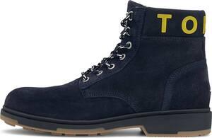 Tommy Jeans, Schnür-Boots in dunkelblau, Boots für Herren