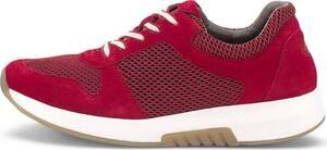 Rolling Soft, Komfort-Schnürer in rot, Sneaker für Damen