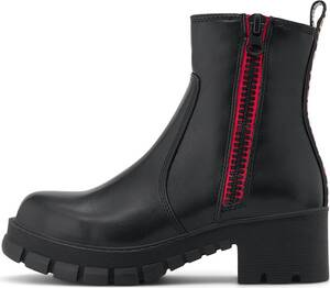 Buffalo, Platform-Stiefelette Mazie in schwarz, Stiefeletten für Damen