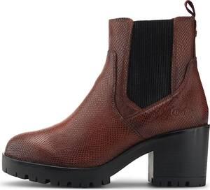 Buffalo, Chelsea-Boots Mira in mittelbraun, Boots für Damen