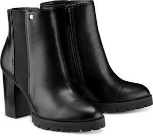 Buffalo, Trend-Stiefelette in schwarz, Stiefeletten für Damen
