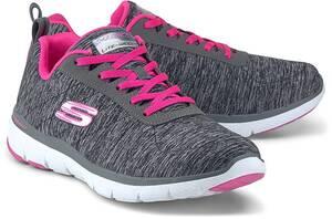 Skechers, Flex Appeal 3.0 in schwarz, Sneaker für Damen