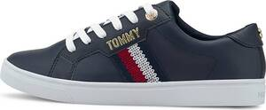 Tommy Hilfiger, Sneaker Th Lace Up in blau, Sneaker für Damen