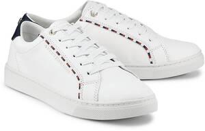 Tommy Hilfiger, Corporate Detail in weiß, Sneaker für Damen