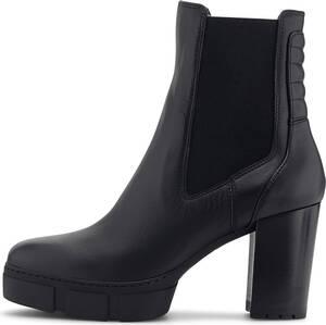 Unisa, Plateau-Stiefelette Kubel in schwarz, Stiefeletten für Damen