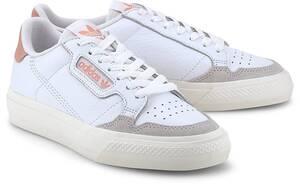adidas Originals, Sneaker Continental Vulc in weiß, Sneaker für Damen