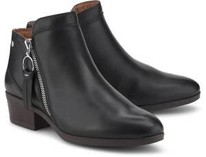 Pikolinos, Leder-Boots Daroca in schwarz, Stiefeletten für Damen