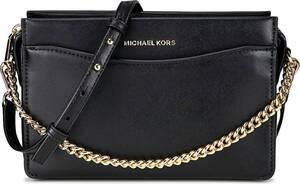 Michael Kors, Umhängetasche Lg Conv Chain Xbod in schwarz, Umhängetaschen für Damen