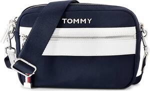 Tommy Hilfiger, Umhängetasche in dunkelblau, Umhängetaschen für Damen