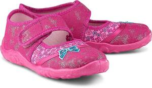 Superfit, Hausschuh Bonny in pink, Hausschuhe für Mädchen