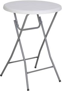 """TrendLine Stehtisch """"Ø 81, Höhe 110 cm, rund, hellgrau, Kunststoff"""""""