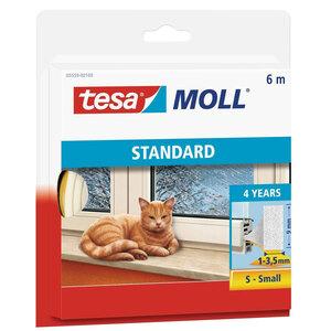 Tesa              Langlebiger Schaumstoff 6m, weiß, für Spalten von 1-3, 5mm, Standard