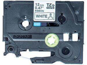 brother Textilband TZe R231 weiß schwarz 12mm x 4m