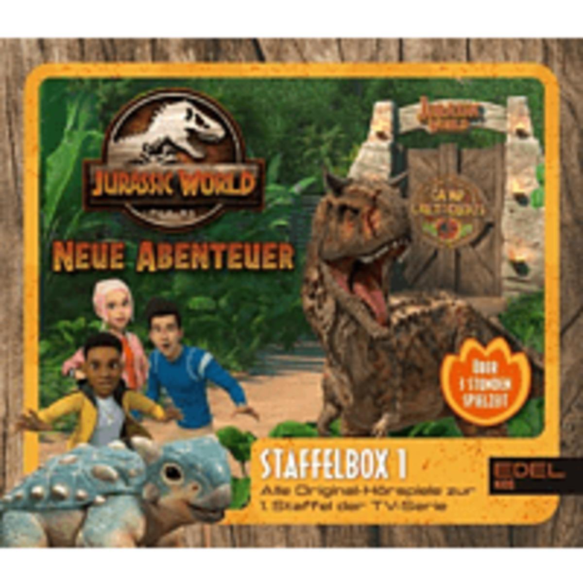 Bild 1 von Jurassic World-neue Abenteuer Staffelbox 1 Hörspiel (Kinder)