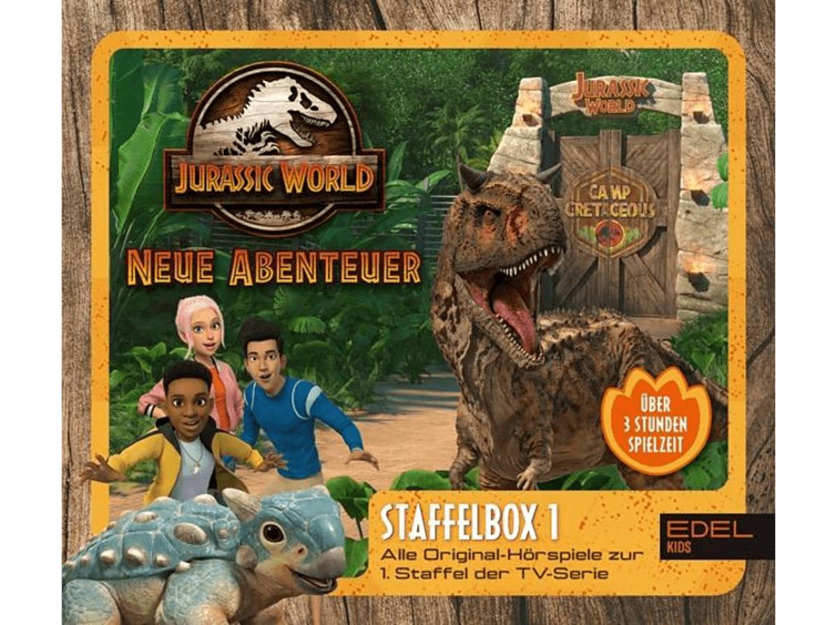 Bild 2 von Jurassic World-neue Abenteuer Staffelbox 1 Hörspiel (Kinder)