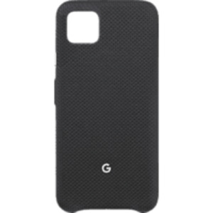 GOOGLE GA01276 Backcover Google Pixel 4XL Nylonstoff, Polycarbonat sowie Innenfutter aus Mikrofaser Just Black