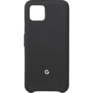 GOOGLE GA01280 Backcover Google Pixel 4 Nylonstoff, Polycarbonat sowie Innenfutter aus Mikrofaser Schwarz