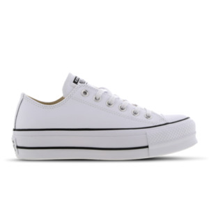 Converse Chuck Taylor All Star Platform Low Leather - Damen Schuhe
