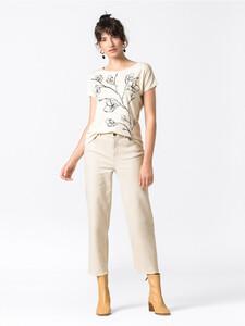 Oversize-Shirt mit Blumenprint
