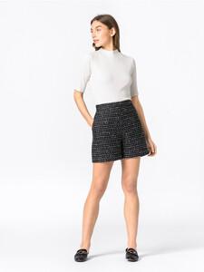 Bouclé-Shorts