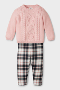 Baby-Thermo-Outfit - Bio Baumwolle - 2 teilig