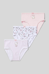 Hello Kitty - Slip - Bio-Baumwolle - 3er Pack