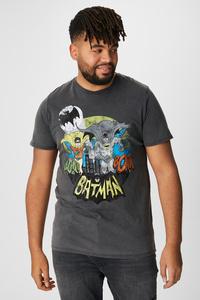 C&A T-Shirt-Batman, Grau, Größe: 6XL