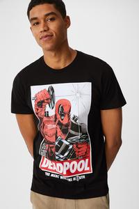 C&A T-Shirt-Marvel, Schwarz, Größe: XXL