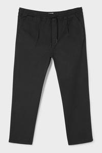 C&A Chino-Regular Fit, Schwarz, Größe: 6XL