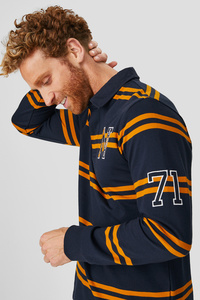 C&A Poloshirt-gestreift, Blau, Größe: XL