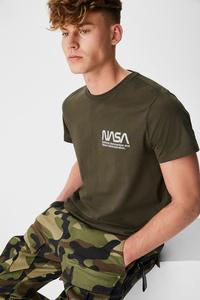 C&A T-Shirt-NASA, Grün, Größe: XXL