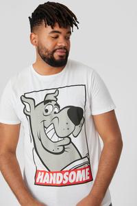 C&A T-Shirt-Scooby-Doo, Weiß, Größe: 4XL