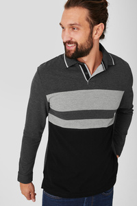 C&A Poloshirt, Grau, Größe: M