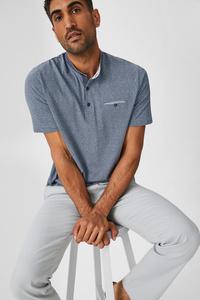 C&A T-Shirt-gestreift, Blau, Größe: S