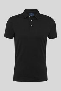 C&A Poloshirt-Bio-Baumwolle, Schwarz, Größe: XS