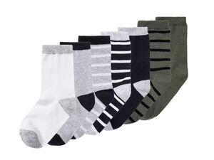 PEPPERTS® Socken Jungen, 7 Paar, mit Bio-Baumwolle