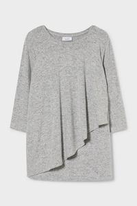 C&A Still-Langarmshirt, Rosa, Größe: XL