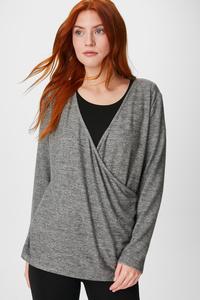 C&A Pyjama-Oberteil, Rosa, Größe: XXL
