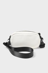 C&A Umhängetasche-Lederimitat, Weiß, Größe: 1 size