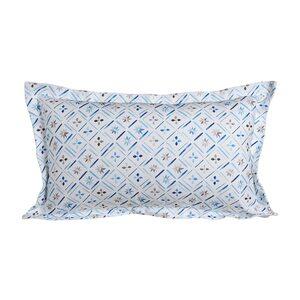 Kissenhülle Blue Tiles