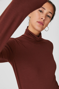 C&A Basic-Langarmshirt-Bio-Baumwolle, Gelb, Größe: XL