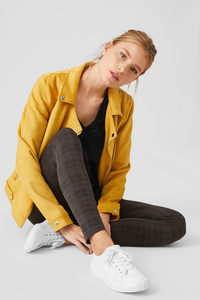 C&A Basic-Leggings-Bio-Baumwolle-2er Pack, Grau, Größe: L