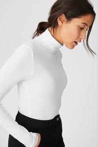 Basic-Langarmshirt - Bio-Baumwolle - 2er Pack