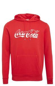 "Roter ""Coca-Cola"" Kapuzenpullover"